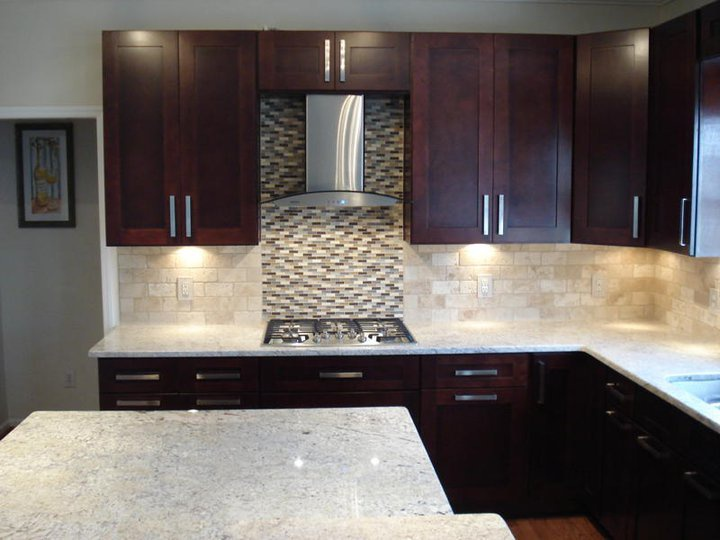Cw Shaker Expresso Kitchen Cabinet Pictures