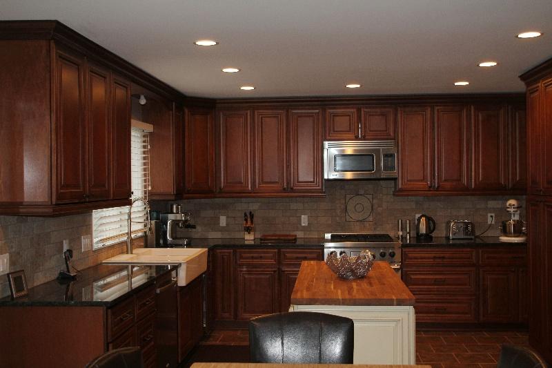Cherry Antique Kitchen Cabinet Pictures