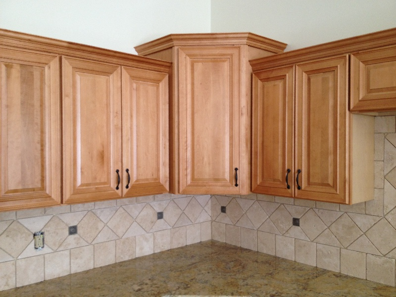Cw Honey Maple Cabinet Kitchen Pictures